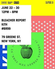 We're getting down with NYC's finest @KITH to bring you the first ever #BR99 pop-up experience. We're setting up shop in Manhattan June 22 - June 30, 12-8pm. Collab gear, @Kithtreats, a BR99 custom video lab, nightly speakers series and plenty of vibes. 79 Greene St. in SoHo.  Come through.