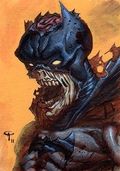 Zombie Batman - Angel Palacios