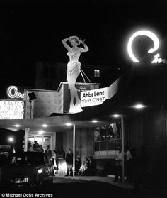 Ciros located at 8433 Sunset Boulevard on the Sunset Strip, opened in January 1940