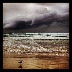 A stormy winter Gold Coast...