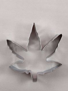 Marijuana Leaf Cookie Cutter - Stainless Steel - Pot Leaf Mold $5.99