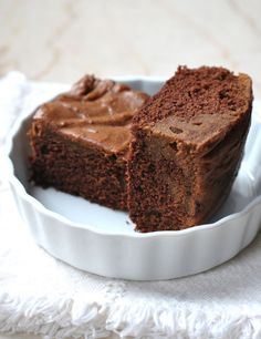 THE THICK BROWNIES (with cream cheese )