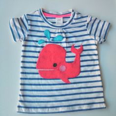 Little whale t-shirt  | elenaline