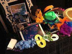 Deja Photo Booth Props