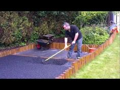 Wet pour rubber playground base installation