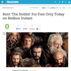 http://mashable.com/2013/05/22/hobbit-redbox-instant-free/ ... | #Indiegogo #fundraising http://igg.me/at/tn5/
