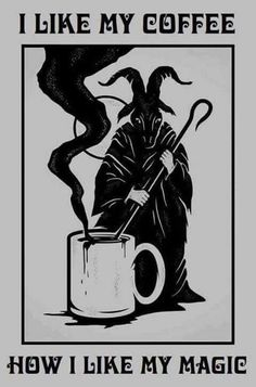 Demoniac coffee