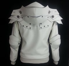 the Sirius.....the brightest in the world.  Knight hoodie and jacket.  Very fun and Heavy armored knight !  More powerful impression!  This is just it.    Visit at  https://www.etsy.com/listing/161863131/sirius-the-white-knight-hoodie