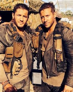 Tom Hardy and stand-in