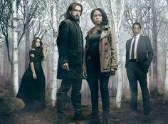 Sleepy Hollow Cast: Katia Winters, Tom Mison, Nicole Beharie, Orlando Jones.