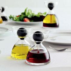 oil and vinegar droppers