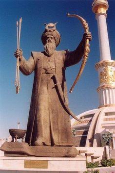 Dede Korkut. Book of Dede Korkut. Turkmen Turkic Languages, Semitic Languages, Epic Heroes, Eurasian Steppe, Ottoman Turks, Military Costumes, Blue Green Eyes, The Turk, Sumerian
