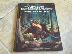 Advanced Dungeons and Dragons: Monster Manual II (#2016) TSR 1983