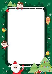 1275825 Christmas Flyer, Christmas Frames, Christmas Clipart, Christmas Ornaments, Alphabet Activities, Preschool Activities, Free Printable Stationery, Kids Boxing, Happy Halloween