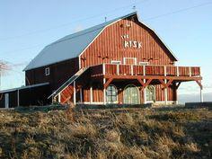 The Red Risk Barn Jerome Idaho
