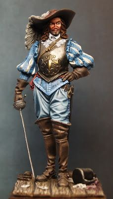 Miniatures, Paint and History: Spanish Noble XVII 75mm Romeo (Update IV)