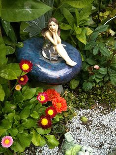 I'm not much of a gardener but someday I would like to have a Fairy Garden.