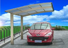 Probably not quite right, but interesting. Aluminum Carport Design