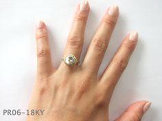 Keshi Pearl Ring Satomi Kawakita Jewellery