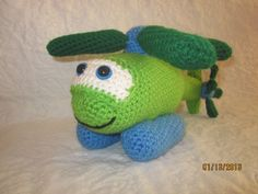 Henry the Helicopter Crochet Pattern