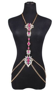 d4307b0be9ab2 These beautiful chunky body chains are sure to make you stand