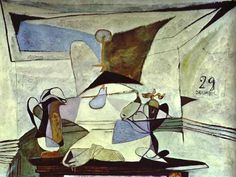 Pablo Picasso - Still-Life 1936
