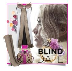 """""""Blind Date"""" by kari-c ❤ liked on Polyvore featuring Coach, Smith & Cult, Burberry, women's clothing, women, female, woman, misses, juniors and blinddate"""
