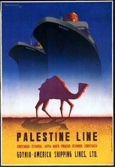 Visit Palestine - 1930s poster