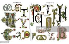 Image result for illuminated letters