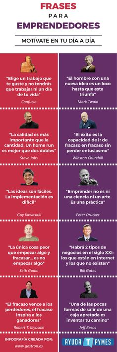 Frases para emprendedores motvate en tu da a da. Vie Positive, Motivational Quotes, Inspirational Quotes, More Than Words, Entrepreneurship, Online Business, Leadership, Digital Marketing, Knowledge