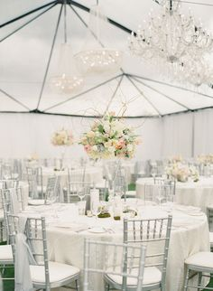 #White #Tented Wedding Reception | See the wedding on SMP - http://www.StyleMePretty.com/2013/11/19/scottsdale-wedding-from-melissa-schollaert-victoria-canada-weddings-events/ Milissa Schollaert Photography | Victoria Canada Weddings