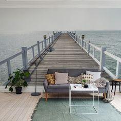 Foto tapet 3D Port Hampton, personalizat, Rebel Walls