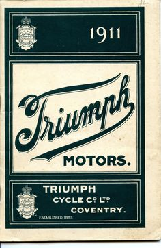 I genuinely adore the things that these folks did with this tailor-made Triumph Motorcycles, Indian Motorcycles, Triumph Logo, Triumph Cafe Racer, British Motorcycles, Vintage Motorcycles, Cafe Racers, Motorcycle Logo, Motorcycle Posters