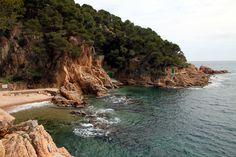 Beaches of Costa Brava Catalonia, Spain - this little gem is in Tamariu.