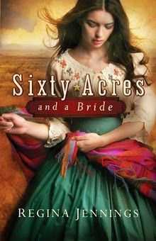 Sixty Acres and a Bride (Ladies of Caldwell County) by Regina Jennings   http://www.faithfulreads.com/2014/10/wednesdays-christian-kindle-books-early.html