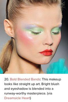 Pastel Makeup Pinspiration: The 20 Dreamiest Ways to Wear It - Make Up 2019 Makeup Inspo, Makeup Art, Makeup Inspiration, Makeup Tips, Beauty Makeup, Eye Makeup, Hair Makeup, Makeup Ideas, Colour Inspiration