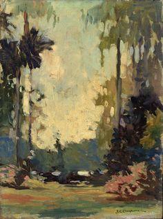 peira:  Joseph C. Claghorn:  A Florida Park (before 1935) via Smithsonian American Art Museum