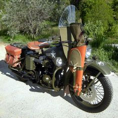 Warboy - the Harley Davidson 883 XWL