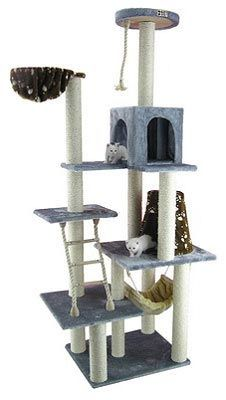1000 images about cat towers on pinterest cat gym cat for Cat tower with hammock