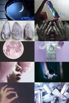 Crystal + Stellar Witch Aesthetic ; requested by anon