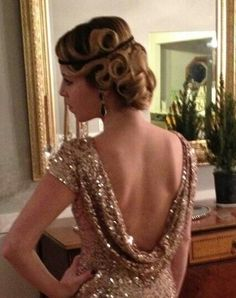 Great Gatsby hair...sooo gorgeous!!