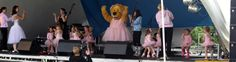 Babyballet Romford Central performing on stage at the Havering show 2013