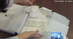 What to do with your wedding dress: NICU Helping Hands will transform them into gowns for babies who never make it home from the hospital.
