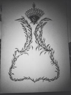 Tattoo design by Joy Pereira #tattoo #tattoodesign #ornementaltattoo