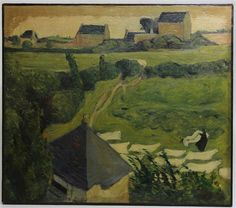 Emile Bernard Paysage en Bretagne Saint Briac