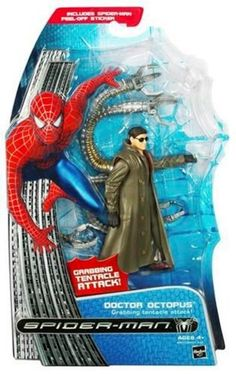 Hasbro Spiderman 3 - Villain Dr Octopus  http://www.comparestoreprices.co.uk/action-figures/hasbro-spiderman-3--villain-dr-octopus.asp