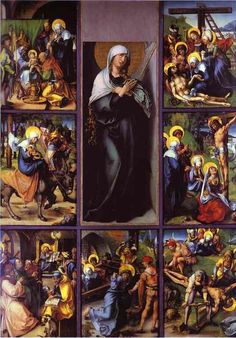 September 1 – The Month of the Seven Sorrows of our Blessed Mother #pinterest #sevensorrows Her sorrows were not necessary for the redemption of the world but in the counsels of God they were inseparable from it. They belong to the integrity of the divine plan. Are not Mary's mysteries Jesus' mysteries and His mysteries hers? The truth appears to be that all the mysteries of Jesus and Mary were in .........