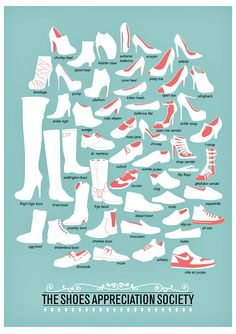 Hey ladies ... A taxonomy of shoes