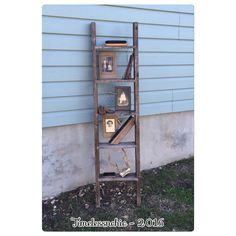 A personal favorite from my Etsy shop https://www.etsy.com/listing/268457159/rustic-ladder-wooden-ladder-chicken-wire