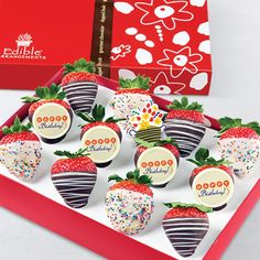 Full Dozen Gourmet Dipped Fancy Strawberries and other chocolates ...
